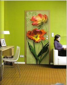 Nice 11 Door Decorating Ideas To Create Modern Interior Doors