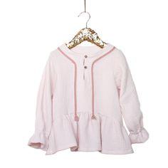 Patrons de Couture PDF à télécharger. EnfantFille. 3-12 ans Trio de patrons de couture - blouse, top et robe. Un look féminin, bohème ou chic selon les f