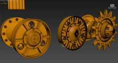 3ds max, zbrush, marmoset toolbag 2, substance painter 2, gamedev, game development, modeling, materials, textures, rendering