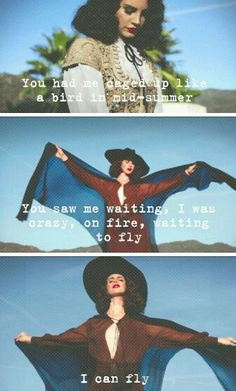 Lana Del Rey #LDR #I_Can_Fly
