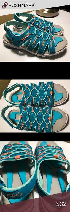 Ryka Fisherman sandals foam flexology blue size 9M Excellent Condition,worn once Ryka Shoes Sandals
