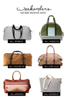 6 Weekender Bags to Make Adventure Easier