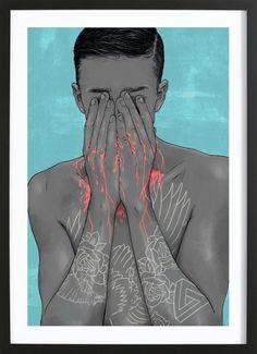 Boy Oh Boy - Laura O'Connor - Framed Poster