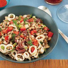 Squid and Black-Eyed Pea Salad  | Food & Wine