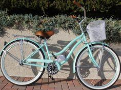 Mint Green Beach Cruiser Bike - Venice Beach Bicycles