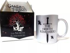 Caneca Game Of Thrones Prateada Stark + Caixa Personalizada - R$ 32,90 em Mercado Livre