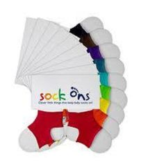 Sock Ons ~ Every Colour Available ~ 0-6 & 6-12 months ~ Free P&P