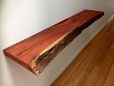 how to make a floating table shelf from solid wood - Google Search