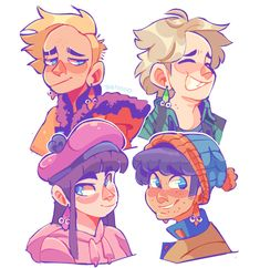 south park sux — art style crisis goes brrrrr here are my kins...