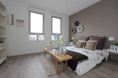 portfolio ingerichte slaapkamer modelwoning