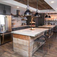 10 cocinas rústicas que merecen un 10