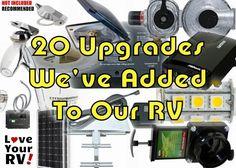 20 RV Upgrades Feature Photo