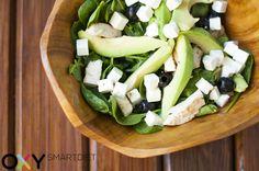 #salad #avocado #kolacja #inspiracja #kulinarna #odchudzanie #fit #motywacja #dietaoxy #oxydiet #diet
