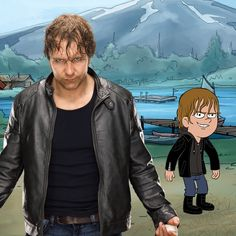 There's a loose canon coming to #CampWWE... and his name is Dean Ambrose!