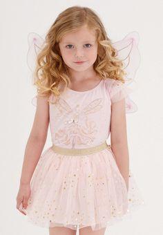 Kate Mack Girls 7-16 Gateau Rose Skirt