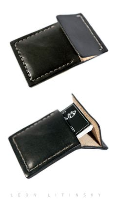 Card Holder.  Custom Color.  I tried to get perfect warm dark gray color.  By Leon Litinsky.