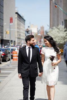 City Hall Weddings New York - Wedding Day Style Rental Wedding Dresses, Civil Wedding Dresses, Custom Wedding Dress, Cheap Wedding Dress, City Hall Wedding, New York Wedding, Courthouse Wedding Dress, Older Bride, Stylish Couple