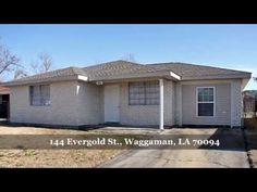 144 Evergold St , Waggaman, LA 70094 - YouTube