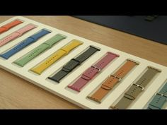 Apple Watch sports new bands