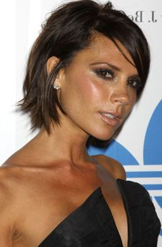 victoria beckham short brown hair - Google Search