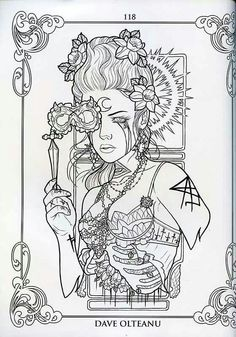 Snow Queen coloring page | Coloring Pages for Adults | Pinterest ...