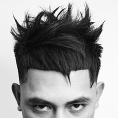 Don't cut yourself on this jagged and spiky look. #menshair #menshaircuts #thickhairmen #haircutsformenwiththickhair #haircutsforthickhairmen #menshairstyles2018 #coolmenshaircuts #newhairstylesformen #spikyhair