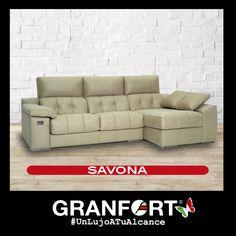 Disfruta de tus momentos de relax, con la chaise longue Savona sus asientos deslizantes y respaldos abatibles te harán distrutar de la comodidad al máximo #UnLujoATuAlcance de Sofás de Autor Granfort