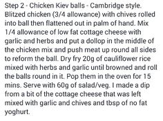 Chicken Kiev Balls Recipe Step 2