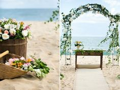 Casamento na Praia | Bárbara + Hugo | Vestida de Noiva | Blog de Casamento por Fernanda Floret