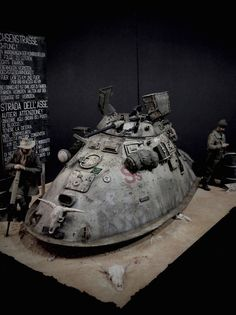 ANDIGOmodels / Pro Build Plastic Resin Scale Model Design by Andigo Kit Bash.Conversions & Dioramas in Amour Modelling Concept Ships, Concept Art, Sci Fi Miniatures, Japanese Art Modern, Steampunk, Fantasy Model, Sci Fi Models, Sci Fi Armor, Model Hobbies