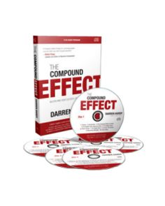 The Compound Effect 6 CD Audio Program by Darren Hardy - Darren is the publisher of Success Magazine, and has interviewed a monstrous amount of massively successful individuals and has found what they all have in common. This CD set is awesome, and the book is too.