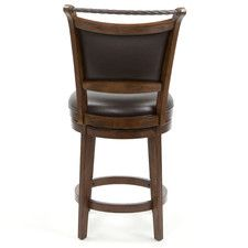 "Swivel 26"" Calais Bar Stool with Cushion"