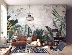 Paradise - Customized Unique Wallpaper, Removable, Washable and Reusable