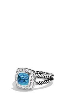 David Yurman 'Albion' Petite Ring with Semiprecious Stone & Diamonds | Nordstrom