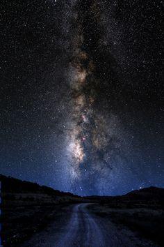Milky Way Road. Image by Larry Landolfi