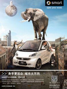 Kobe Bryant Handles A Smart Car Very Smartly