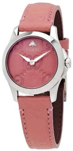 4e30a71f521 Gucci G-Timeless Pink Dial Ladies Watch