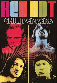Red Hot Chili Peppers Psychedelic Music Poster 24x36 – BananaRoad