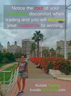 Notice the root of your emotional discomfort when trading and you will discover your resistance to winning #emotionaldiscomfort #emotions #resistance #trading #forextrading #fxtrader #forextrader #digitalnomad #travel #valencia #spain
