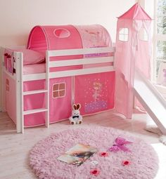 Dormitorio infantil de princesas dormitorios infantiles - Camas de princesas para nina ...