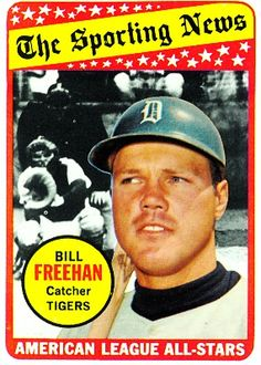 Bill Freehan 1969 Catcher - Detroit Tigers  Card Number: 431