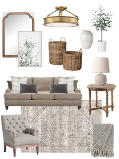 Cottage Living Rooms, Living Room Decor Cozy, Living Room Update, My Living Room, Interior Design Living Room, Living Room Designs, Farmhouse Living Room Decor, Neutral Living Room Colors, Casual Living Rooms