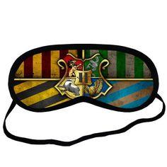 Personalise Custom Harry Potter Hogwarts Sleeping Mask Be...