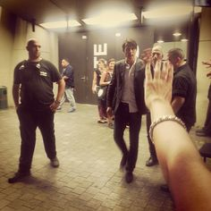 After the show... Tel Aviv -- 30 July 2015 <><>  #suede #tlv #brettanderson