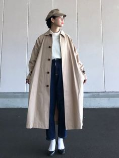 yukiさんのコーデ in 2020 Korean Winter Outfits, Korean Outfits, Boho Fashion Winter, Cozy Fashion, Moda Outfits, Pantalon Large, Tennis Fashion, Casual Outfits, Fashion Outfits