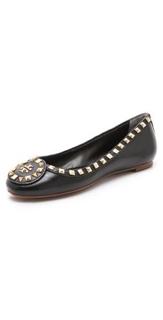 Tory Burch studded Dale Ballet flats. What's not to love?!!!