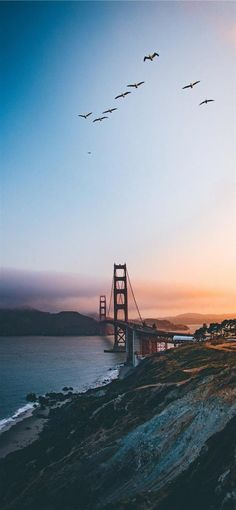 Best Android Phone, Android Phone Wallpaper, Iphone Wallpaper Images, Phone Wallpapers, Golden Gate Bridge, United States, The Unit, Ocean, Mountains