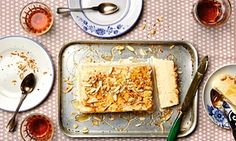 Photograph of Thomasina Miers' rosemary, almond and honey parfait