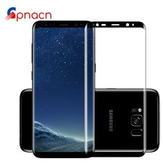 3D Curved Full Cover Tempered Glass For Samsung Galaxy S8 S8 Plus Screen Protector Protective Film For Samsung Galaxy S7 Edge
