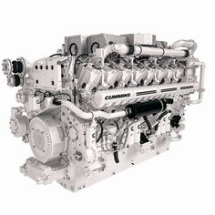 Cummins qst30 c 850 hp diesel engine coming up for auction cummins brings its marine engines to monaco cheapraybanclubmaster Choice Image